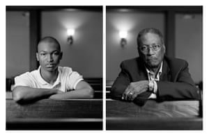 Dawoud Bey - Michael-Anthony Allen and George Washington, 2012