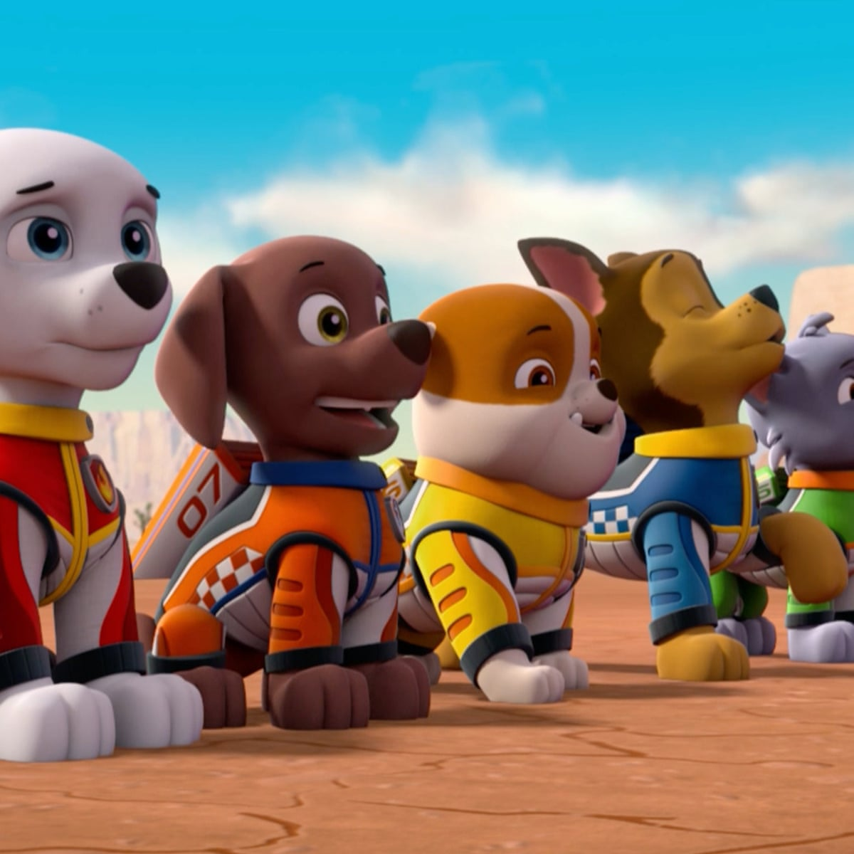 Paw Patrol Ready Race Rescue Review 48 Minutes In The Pits Film The Guardian