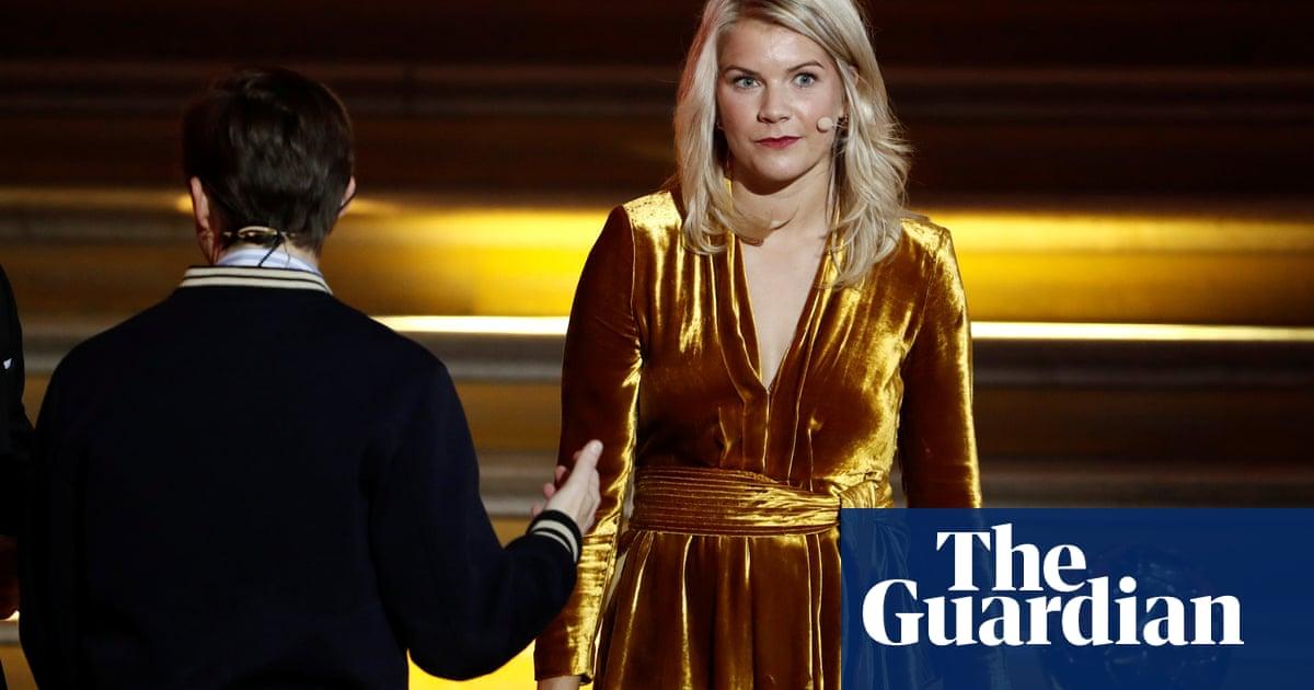 Ada Hegerberg: first women's Ballon d'Or marred as winner is asked to twerk - Football - The Guardian ...