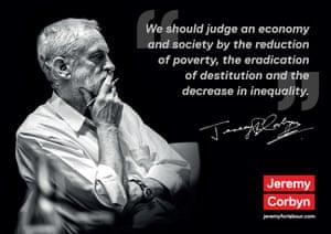 Jeremy Corbyn campaign poster