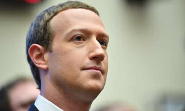 Facebook founder and  and chief executive Mark Zuckerberg