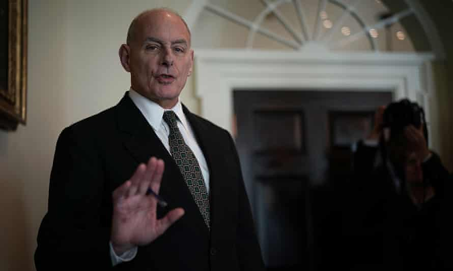 During his time as homeland security secretary, John Kelly considered family separation as a deterrent.