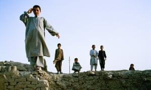 Children of war ... Kabul, Afghanistan.