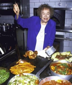 More is more: the American chef Julia Child