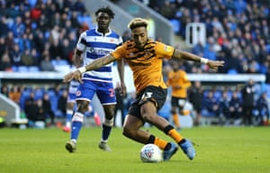 Mallik Wilks levels for Hull City at Reading.