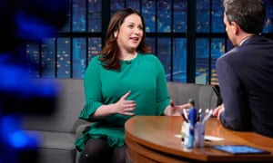 Callimachi during an interview on Late Night with Seth Meyers in May.
