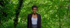 Actor Sheila Atim in a still from Wearing's new film.