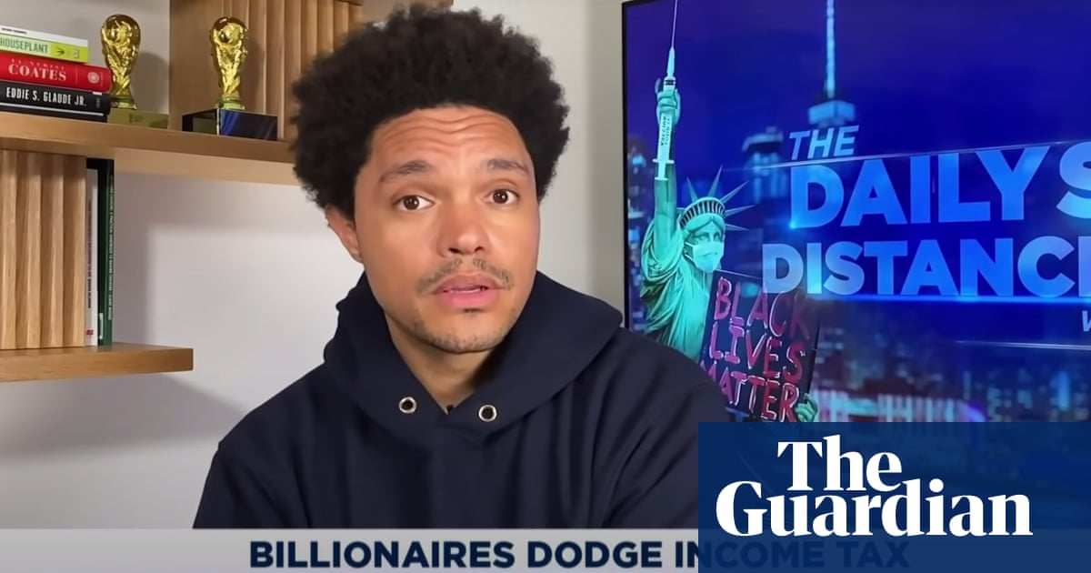 Trevor Noah on billionaire tax loopholes: 'Everyone suspected but still shocking to see proof'
