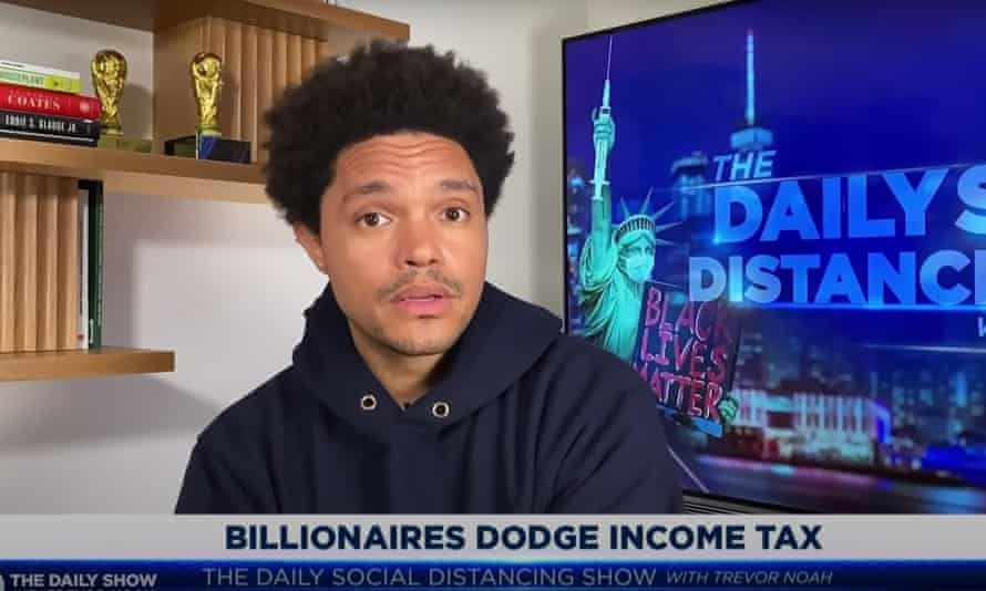Trevor Noah on tax loopholes for billionaires: 'Imagine being so rich that you can afford accountants who make you look poor.'