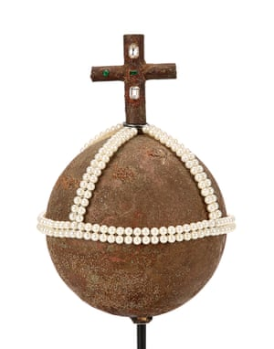 The Holy Hand Grenade of Antioch from Terry Gilliam and Terry Jones' comedy Monty Python and the Holy Grail. Estimate: £50,000 - £100,000