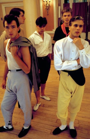 In the late 70s and early 80s, Spandau Ballet were regulars, along with Boy George and John Galliano, at the iconic Blitz Club in London run by Steve Strange who enforced a strict dress code at the door.