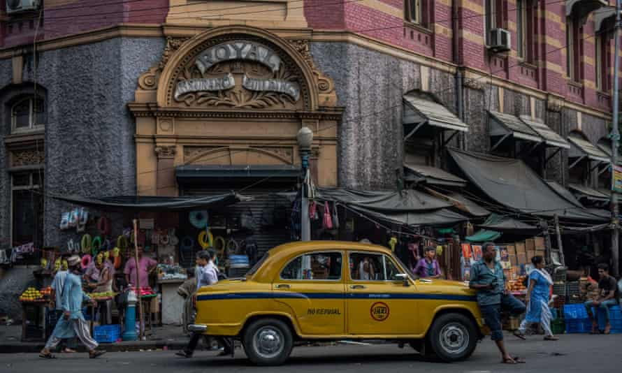 The Royal Insurance building, completed in 1918, in Kolkata.
