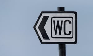 WC sign