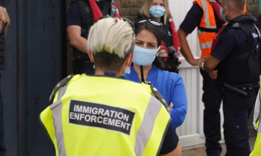 Tempers have flared, too, over the issue of migrant crossings in small craft from France to the UK, with home secretary Priti Patel threatening to turn boats back and withhold cash for French coastal patrols.