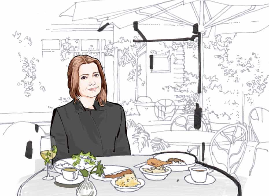 Lunch with Elif Shafak