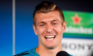 Real Madrid's Toni Kroos said Liverpool are 'going to put us under pressure for 90 minutes'
