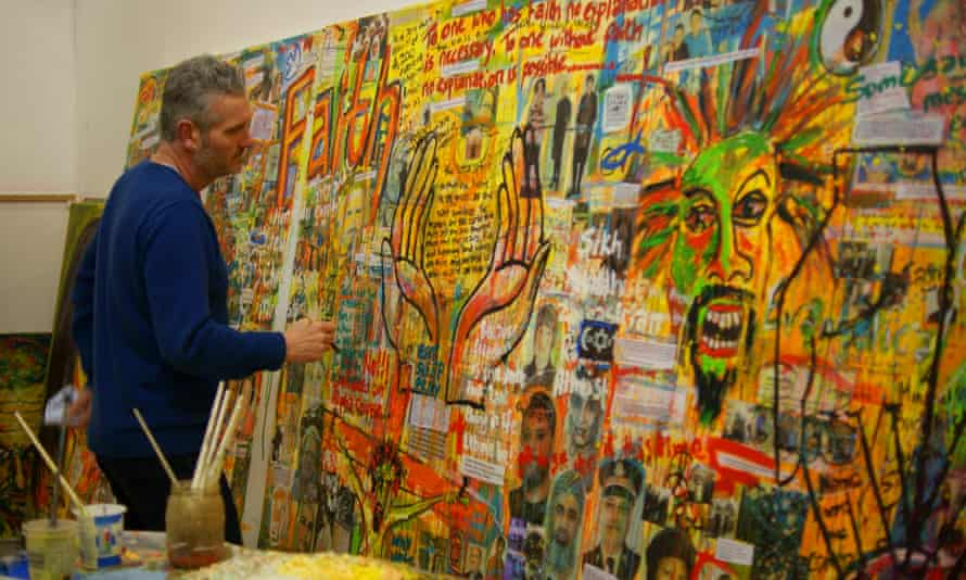 Expressionist artist Russell Haines