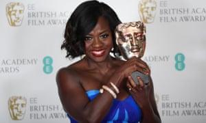 Resultado de imagen de viola davis BAFTA