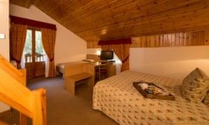 Bedroom in Hotel Petit Tournalin, Champoluc