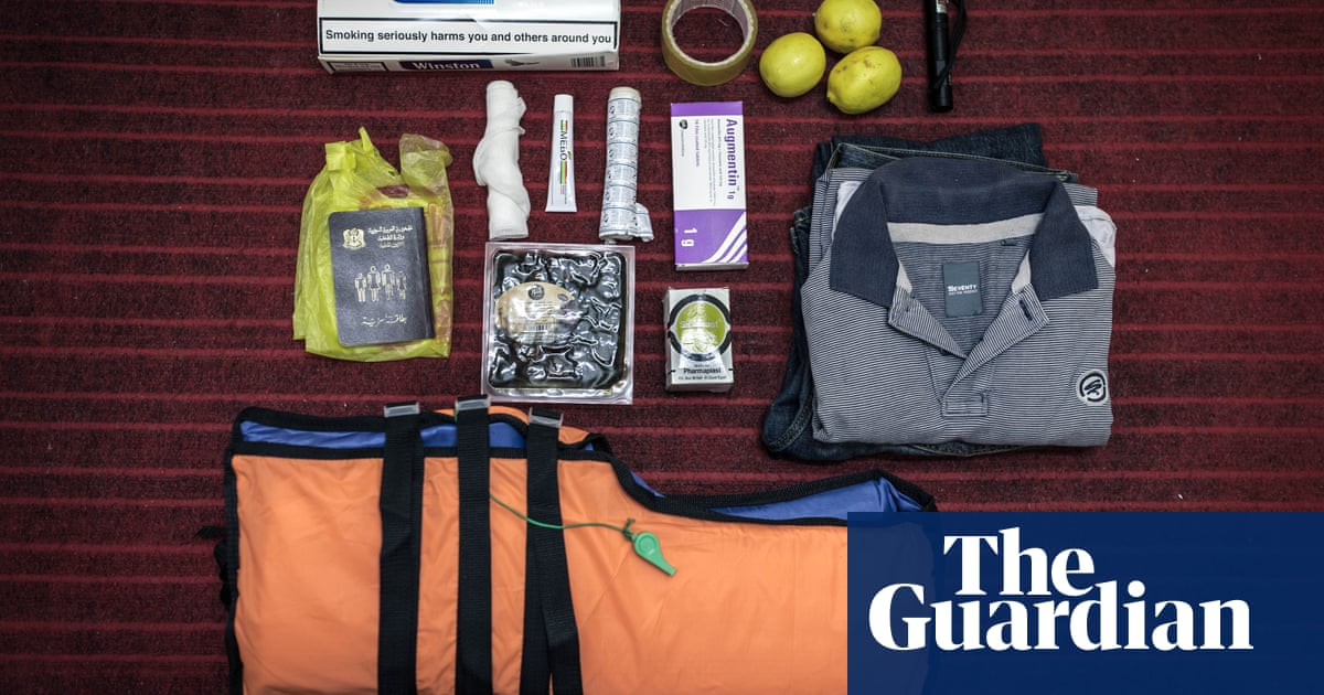 Passport, lifejacket, lemons: what Syrian refugees pack for the