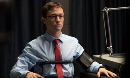 'Important but relatively low-level' … Joseph Gordon-Levitt in Snowden