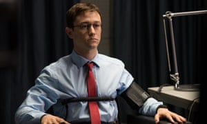 Joseph Gordon-Levitt as Edward Snowden.
