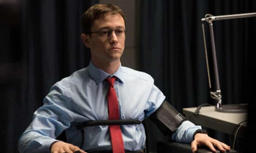 Joseph Gordon-Levitt as Edward Snowden.