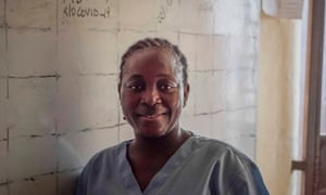 Magdalene Fornah, a nurse at Connaught Hospital in Freetown, had limited access to personal protective equipment and contracted Ebola herself.