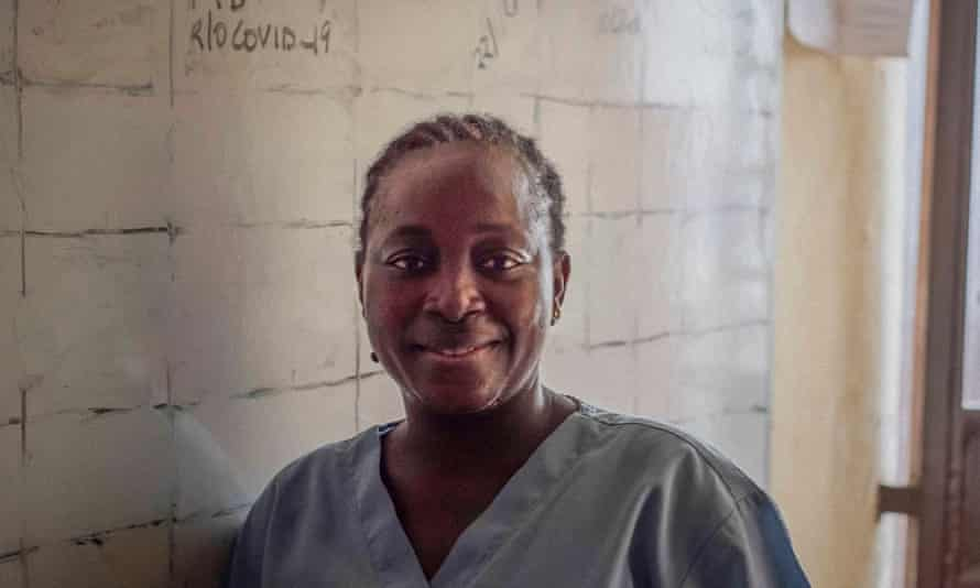 Magdalene Fornah, a nurse at Freetown's Connaught hospital, had limited access to PPE and contracted Ebola herself.