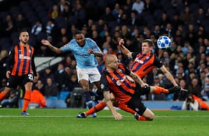 Sterling scores City's third.