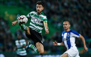 Bruno Fernandes has an impressive range of passing and the ability to change the tempo.