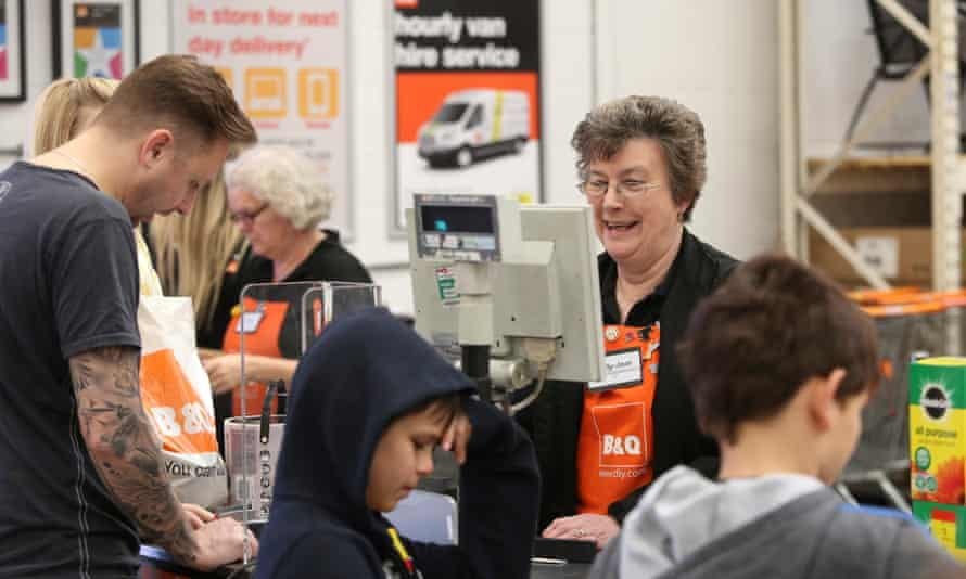 Some employers, such as DIY chain B&Q, are taking a positive attitude to employing older people.
