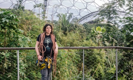 Photo of Hetty Ninnis at the Eden Project