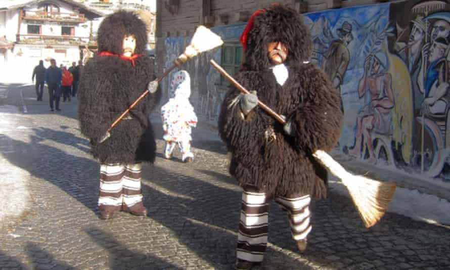 Sappada festival, Italy.