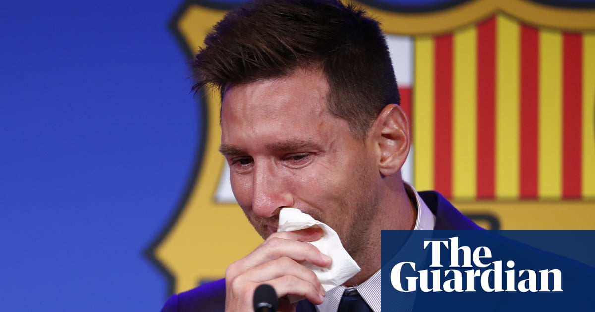 'I wanted to stay': Lionel Messi tearful at Barcelona exit as free transfer looms