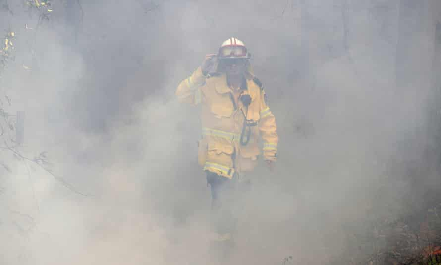 NSW firefighter