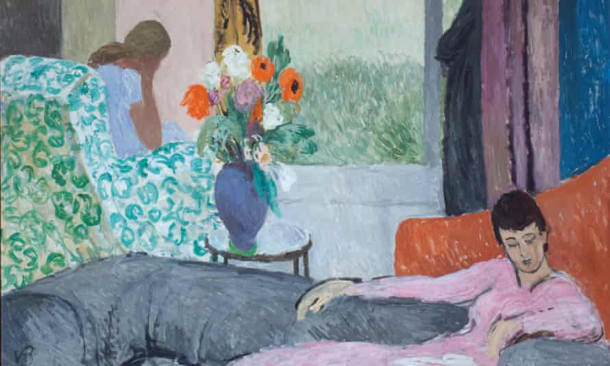 A detail from The Other Room (late 1930s,) by Vanessa Bell. Photograph: © The Estate of Vanessa Bell, courtesy of Henrietta Garnett