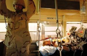 Injured Soldiers in Iraq