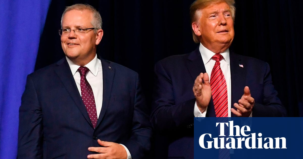Scott Morrison presses Trump for continued detention of ex-Afghan soldier who killed three Australians
