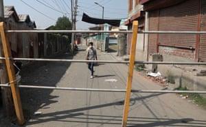 El departamento ha impuesto restricciones por coronavirus en varios distritos de Srinagar