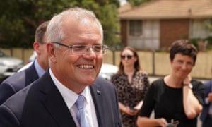 Scott Morrison speaks to the media in Melbourne on Wednesday.