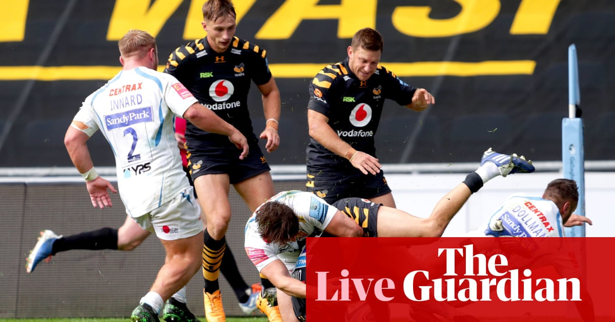 Rugby union: Premiership final day clockwatch – live!