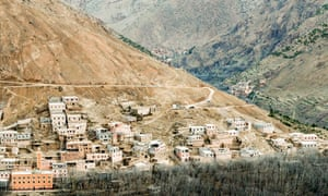 The village of Imlil, Morocco. The bodies of Maren Ueland and Louisa Vesterager Jespersen were found nearby.