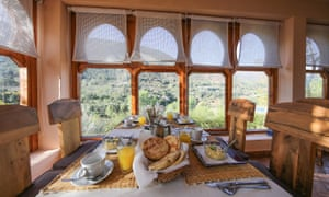 Breakfast with a view Kasbah Africa,