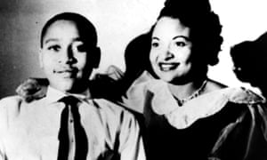 Emmett Till, shown here with his mother Mamie, was killed in 1955