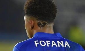 Leicester City's Wesley Fofana