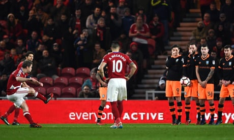 Middlesbrough see off Sheffield Wednesday but Daniel Ayala sees red