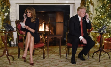 Christmas cheer: Trump tells child that believing in Santa at seven is 'marginal'
