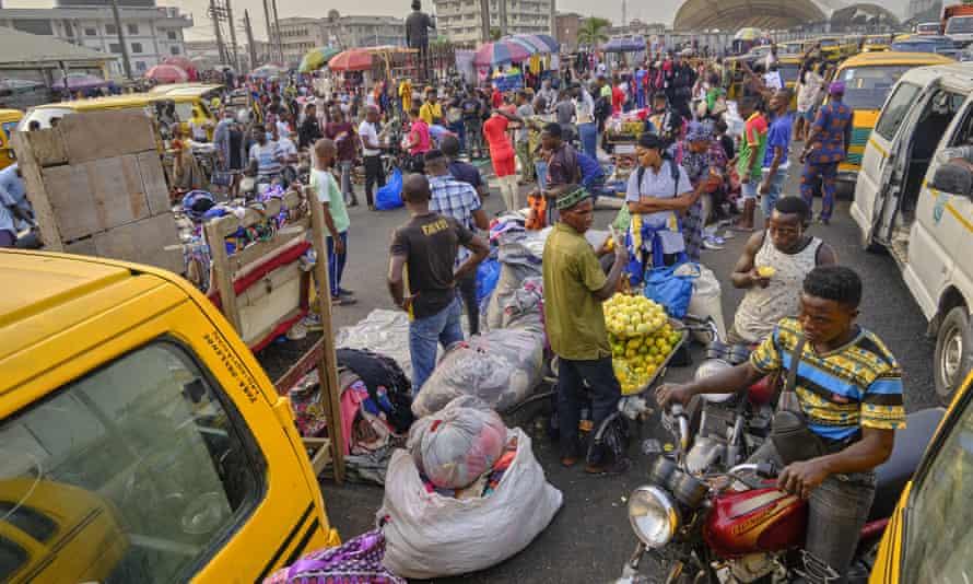 Kota Lagos di Nigeria
