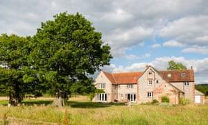 42 Acres Farmhouse, Frome, Somerset, UK.